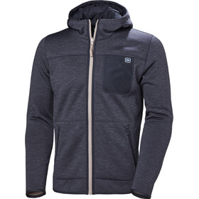 Helly Hansen Verket Reversible Pile Jacket Herre aluminum
